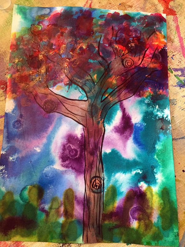 pat mccaw creative corner tree