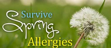 May Brings Flowers … and Allergies