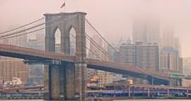 Brooklyn Bridge Fog & Rain
