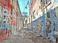 Graffiti Alley Olympia, Wa