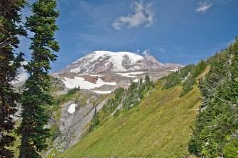 Mt Rainier glaciers