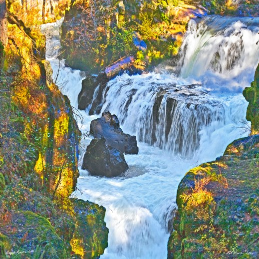 Rogue River Waterfall Or