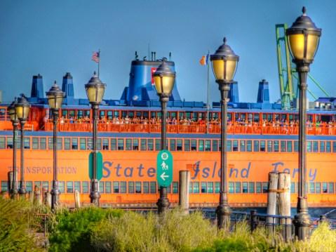 Staten Island Ferry, Battery Park, New York