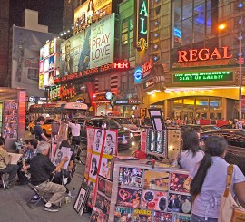 Sketch Artist on Time Square