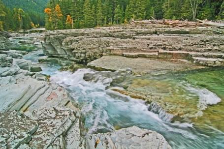 glacier Macdonald creek
