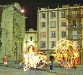iss oax fire dance