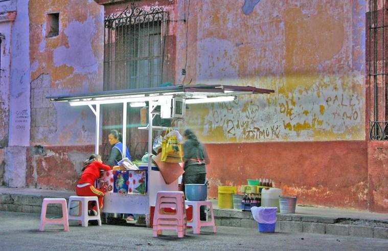 oax street vendor