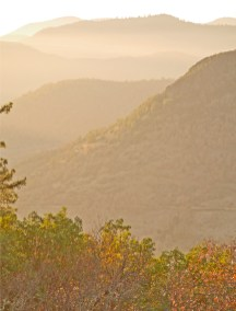 Autumn Ridge-lines From Table Rock