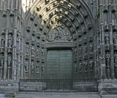 Seville Cathedral Gate