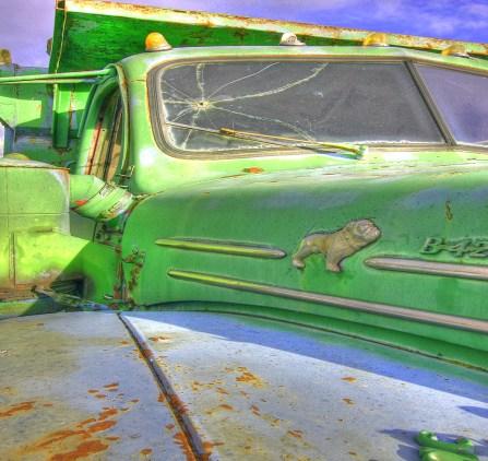 Talent green mack truck bullet