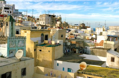 Tangier Morocco Skyline (single), image ©2010 Pat Moore Photography