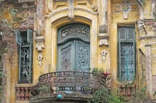 Hanoi Ornate Balcony