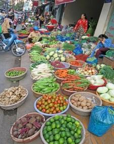 cantho street market vendors market pt