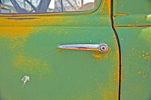 green truck self port