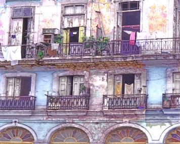 Balconies, Windows and Laundry, Havana