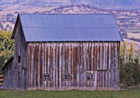 Barn Close Up, Talent , OR