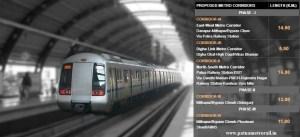 Patna Metro Rail metro corridores