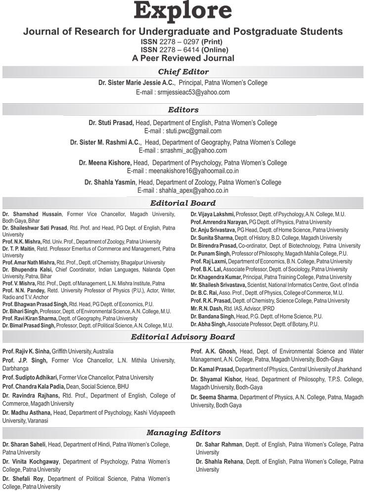 Best College in Patna   Explore-7-Editorial-Board