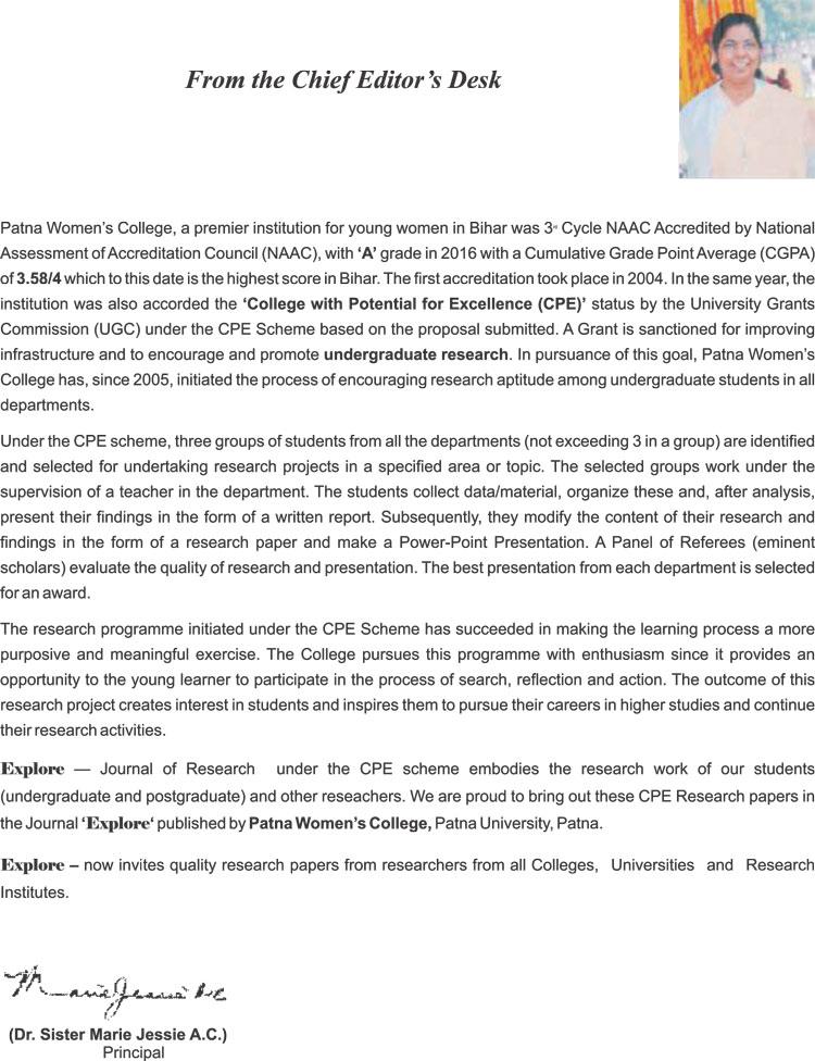 Top College in Patna | Explore-8-Chief-Editors-Desk