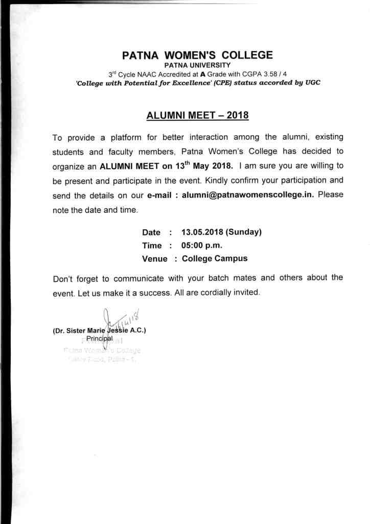 Best College in Patna | Alumni