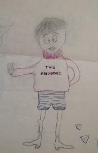 Craig's drawings were comic