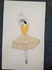 Anna Pavlova in yarn. Mine, of course