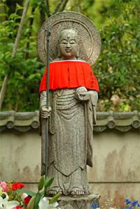 鈴虫寺のお地蔵さま