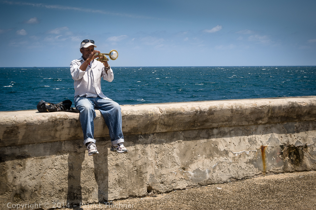 On the Malecón, Havana, Cuba