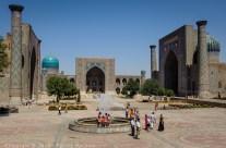 Le Régistan, Samarcande, Ouzbékistan