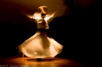 Mevlevi Sufi swirling dervish, Istanbul, Turkey