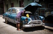 Old American, Havana, Cuba