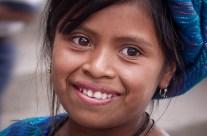 Jeune fille indienne, Lac Attitlan, Guatemala