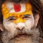 Sâdhu à Pashupatinath, Katmandou, Népal