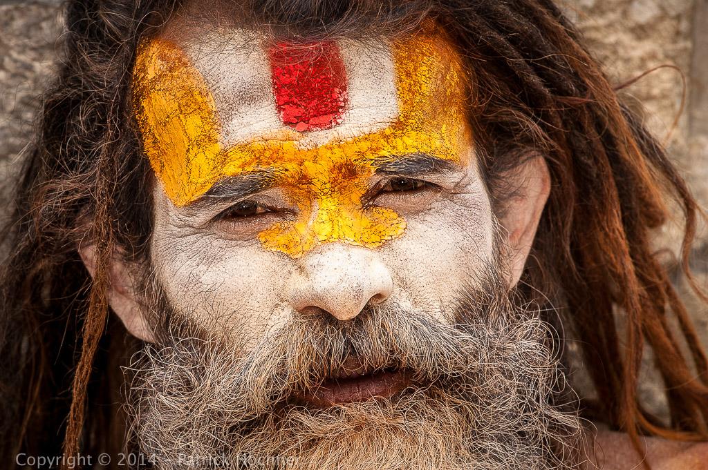 Sadhu in Pashupatinath, Kathmandu, Nepal