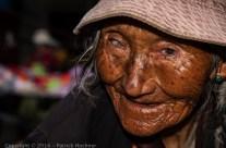 Visage tibétain, Lhassa, Tibet
