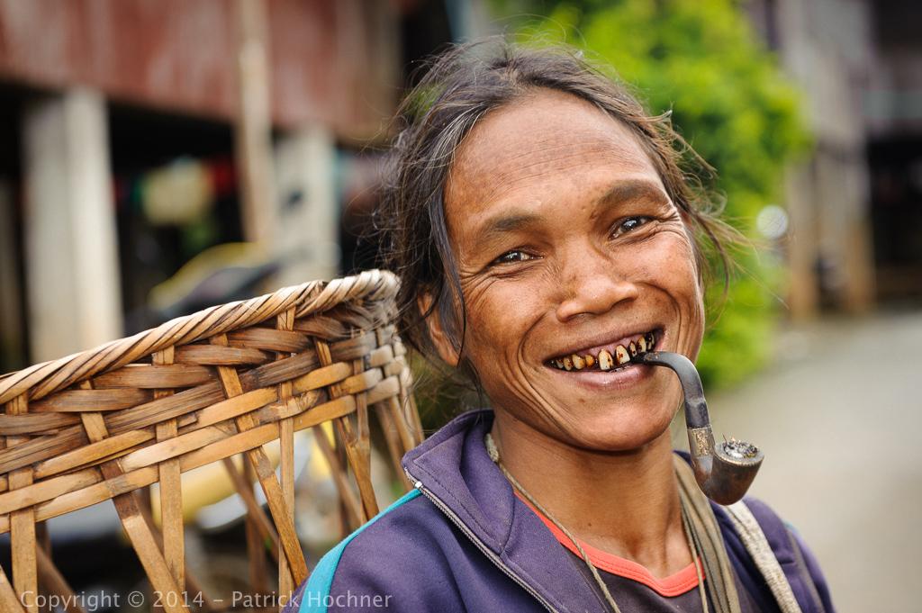 Lawa woman, La Up village, Thailand
