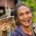 Femme Lawa, La Up, Nord de la Thaïlande
