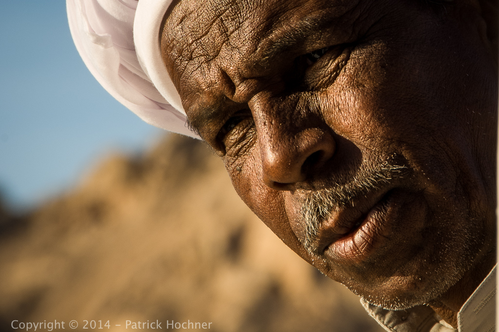 Waterman in Aswan, Egypt