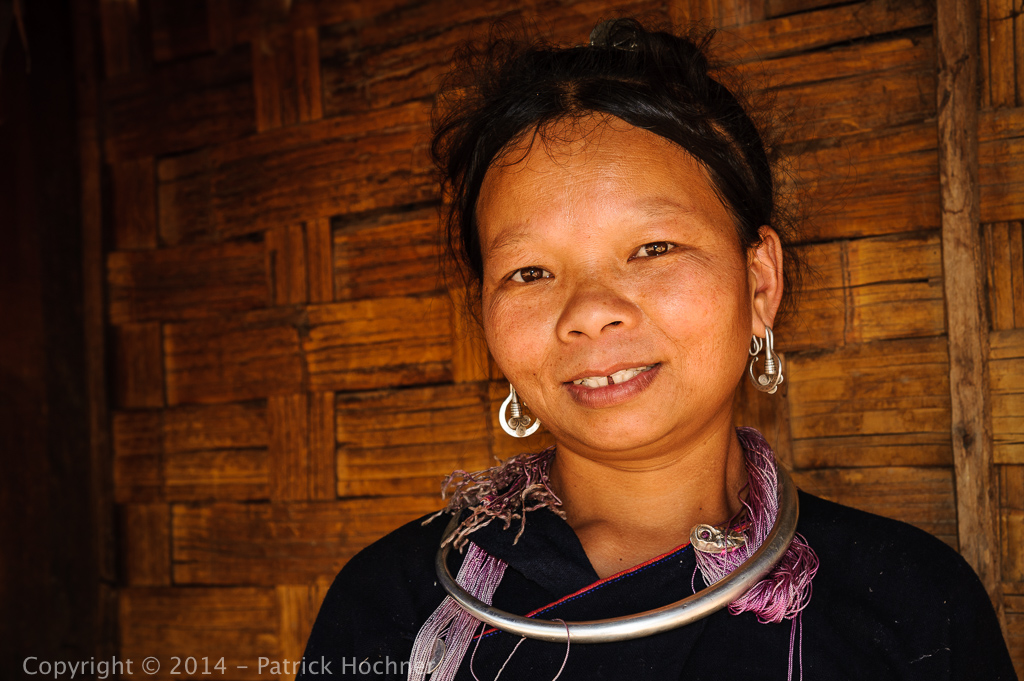Lanten minority group, near Muang Sing, Laos