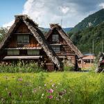 Maisons Gassho-zukuri, Shirakawago, Japon