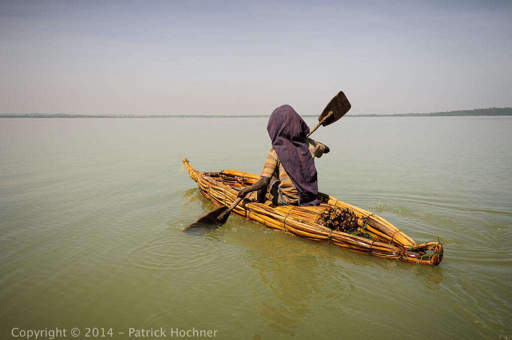 Tankwas on Lake Tana, Ethiopia
