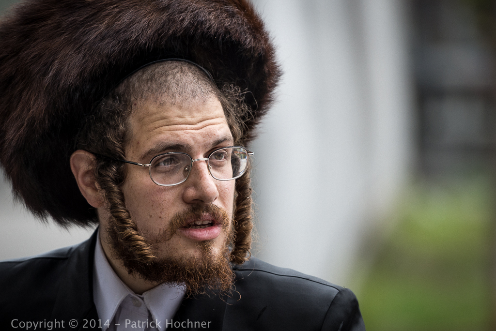 Hassidic Jew, Brooklyn, NYC