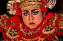 Baris dancer, Ubud, Bali