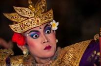 Kebiar dancer, Ubud, Bali