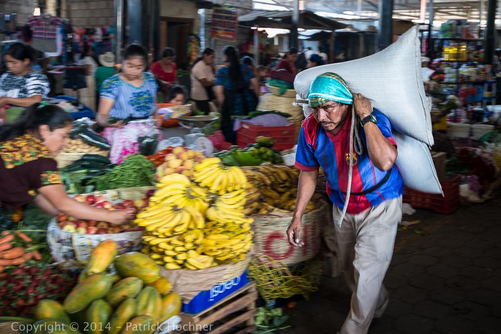 The market, La Antigua Guatemala
