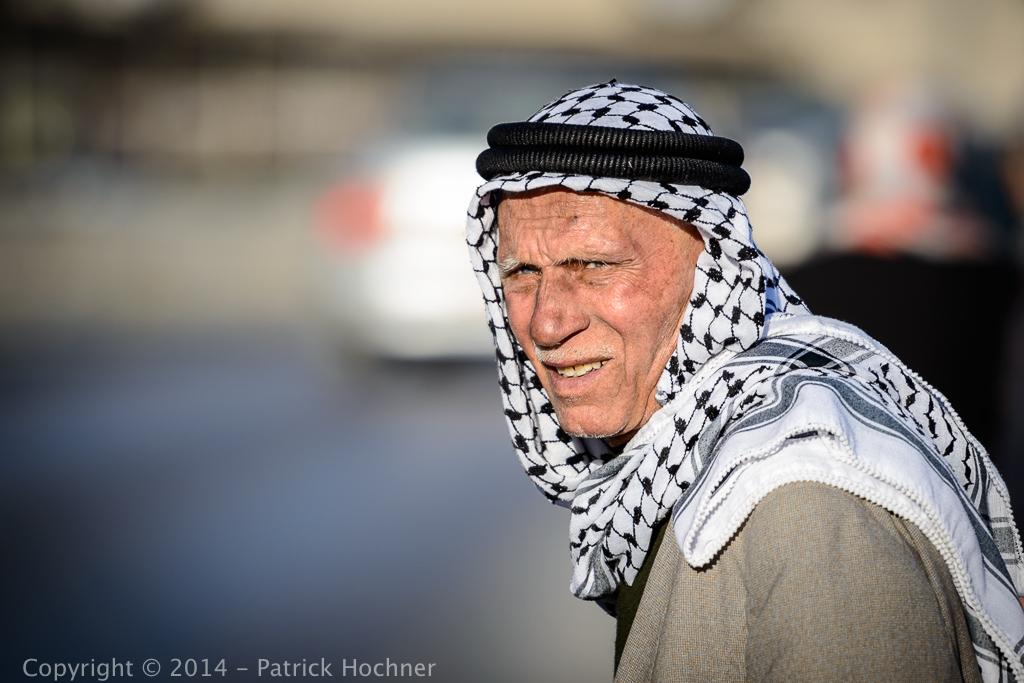 Vieux Palestinien, Jérusalem, Israël