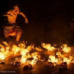 Kecak and fire dancer, Bali