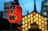 Lanterns on a float