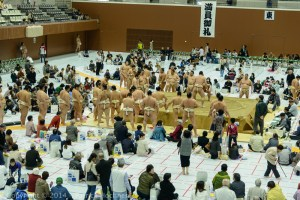 Sumo Tournament, Kyoto, Japan