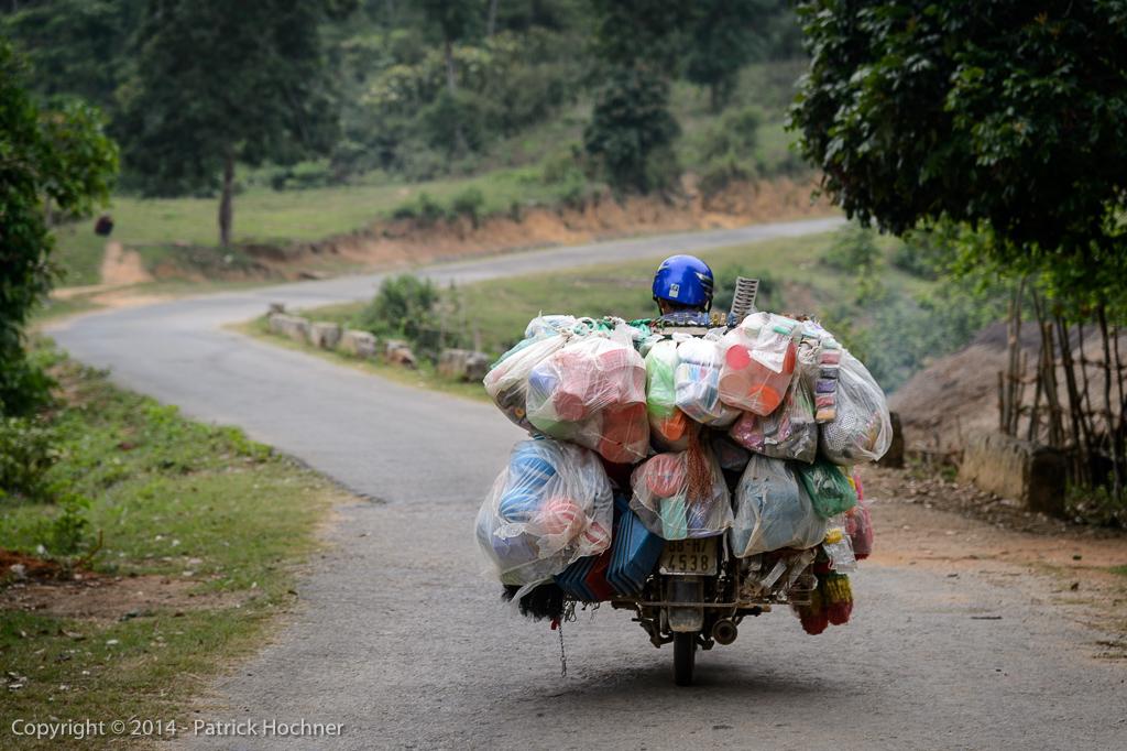 On the road to Dien Bien Phu, Vietnam